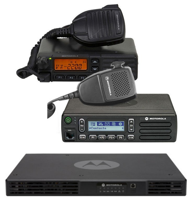 Motorola Mobile Radios and Repeater