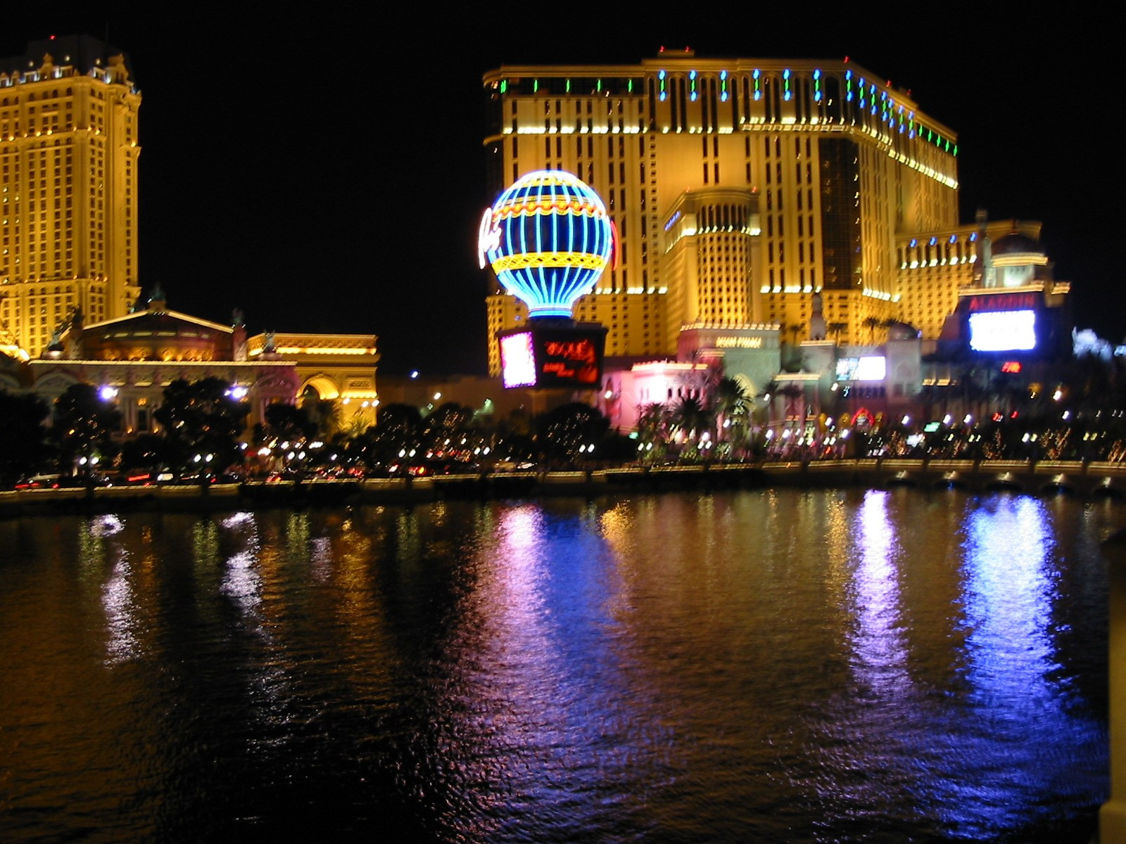 Paris From the Bellagio