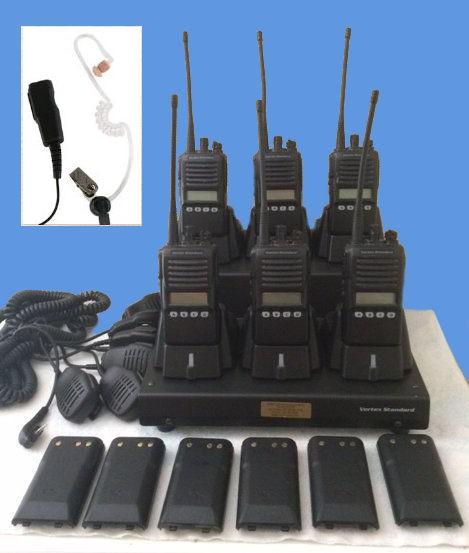 Rental Radios and Charger Bank